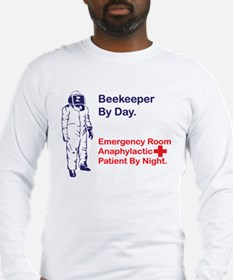 Beekeeper by day Long Sleeve T-Shirt