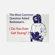 Ever get stung Rectangle Magnet