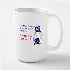 Ever get stung Large Mug