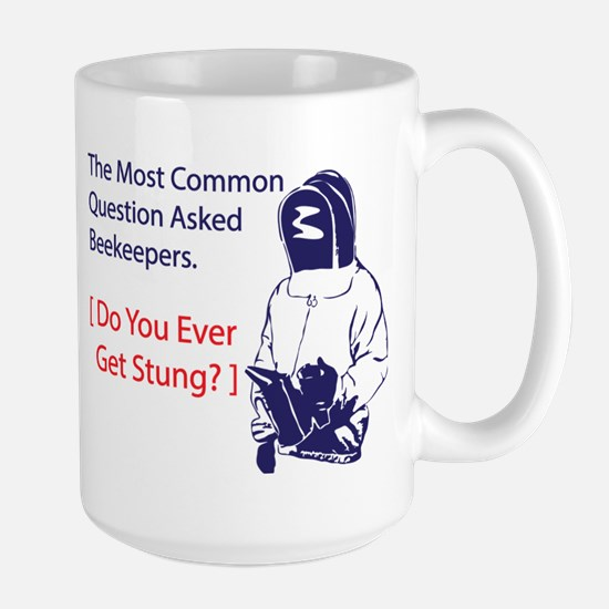Ever get stung Large Mug