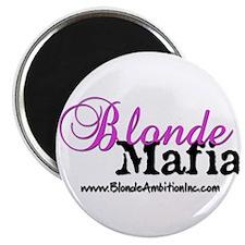 Funny Blonde humor Magnet