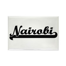 Nairobi Kenya Classic Retro Design Magnets