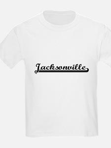 Jacksonville Florida Classic Retro Design T-Shirt