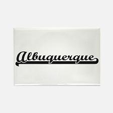 Albuquerque New Mexico Classic Retro Desig Magnets