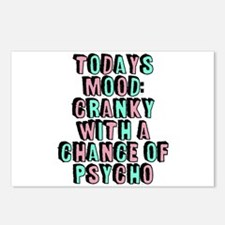 Cranky With A Chance Of P Postcards (Package of 8)