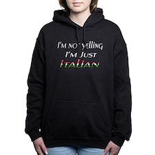 Funny Boy's Women's Hooded Sweatshirt