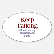 Keep Talking Decal