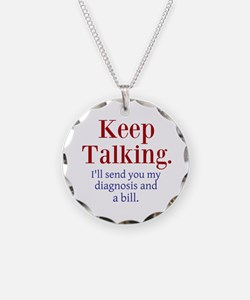 Keep Talking Necklace