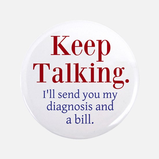 """Keep Talking 3.5"""" Button (100 pack)"""