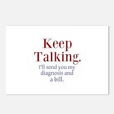 Keep Talking Postcards (Package of 8)