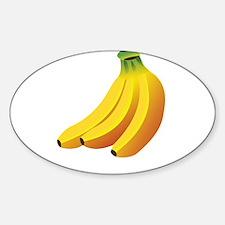 Funny Health food Sticker (Oval)