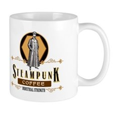 Steampunk Coffee Industrial Strength Mugs