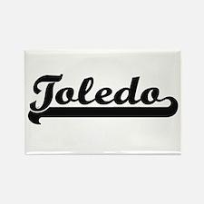 Toledo Ohio Classic Retro Design Magnets