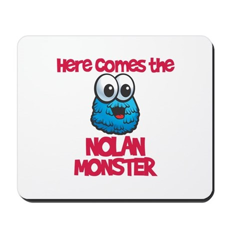 Nolan Monster Mousepad