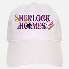 Sherlock Holmes Lives Baseball Baseball Cap