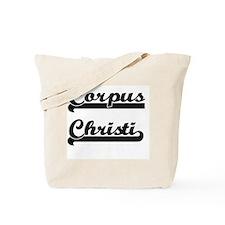 Corpus Christi Texas Classic Retro Design Tote Bag