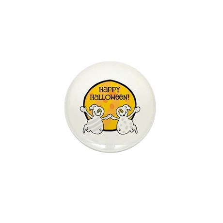 Friendly Ghosts Mini Button (10 pack)