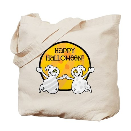 Friendly Ghosts Tote Bag