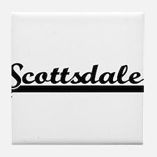 Scottsdale Arizona Classic Retro Desi Tile Coaster