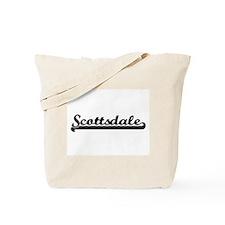 Scottsdale Arizona Classic Retro Design Tote Bag