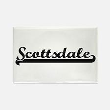 Scottsdale Arizona Classic Retro Design Magnets