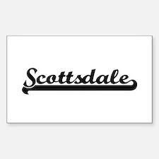 Scottsdale Arizona Classic Retro Design Decal