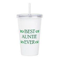 Best Auntie Ever Acrylic Double-wall Tumbler