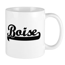 Boise Idaho Classic Retro Design Mugs