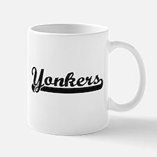 Yonkers New York Classic Retro Design Mugs
