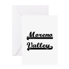 Moreno Valley California Classic Re Greeting Cards