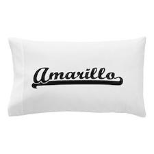 Amarillo Texas Classic Retro Design Pillow Case