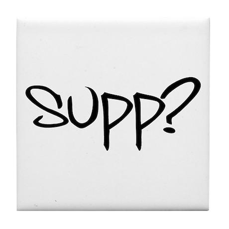 Supp? Tile Coaster