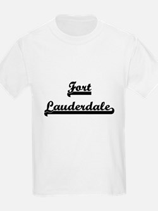 Fort Lauderdale Florida Classic Retro Desi T-Shirt