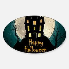Happy Halloween Castle Decal