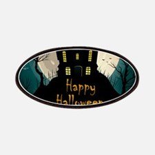 Happy Halloween Castle Patch