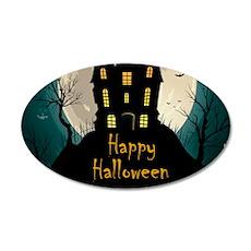 Happy Halloween Castle Wall Sticker