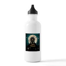 Happy Halloween Castle Sports Water Bottle