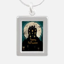 Happy Halloween Castle Necklaces