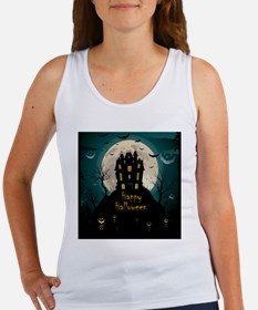 Happy Halloween Castle Tank Top