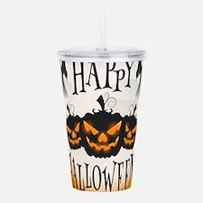 Happy Halloween Acrylic Double-wall Tumbler