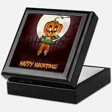 Happy Halloween Haunting Keepsake Box