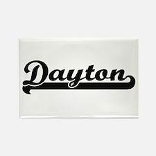 Dayton Ohio Classic Retro Design Magnets
