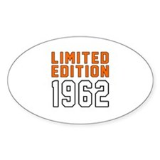Limited Edition 1962 Decal