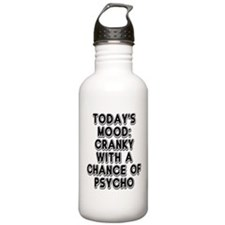 Cranky With A Chance O Water Bottle