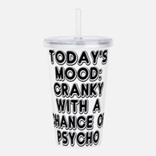 Cranky With A Chance O Acrylic Double-wall Tumbler