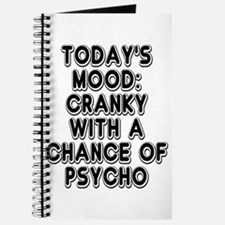 Cranky With A Chance Of Psycho Journal
