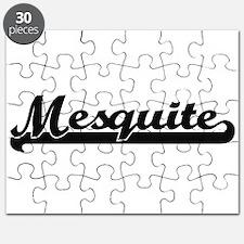 Mesquite Texas Classic Retro Design Puzzle