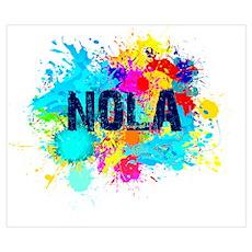 NOLA Splat Poster