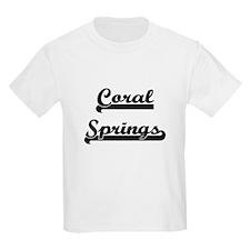 Coral Springs Florida Classic Retro Design T-Shirt