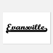 Evansville Indiana Classi Postcards (Package of 8)